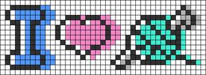 Alpha pattern #91428