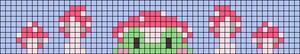 Alpha pattern #91605