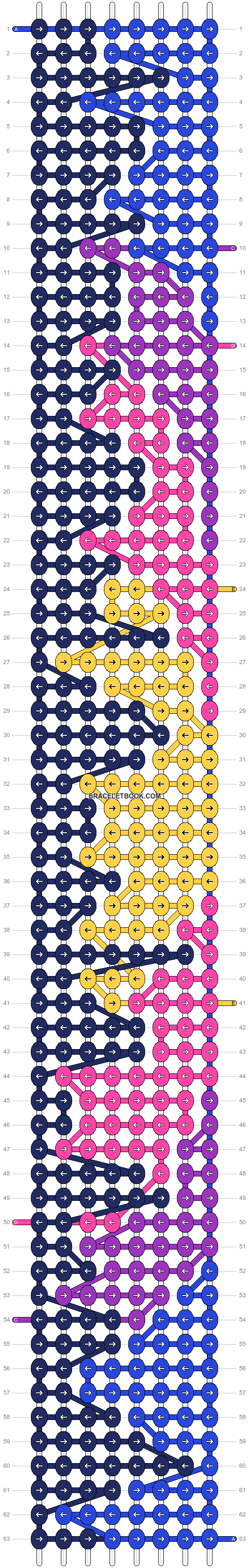 Alpha pattern #91607 pattern