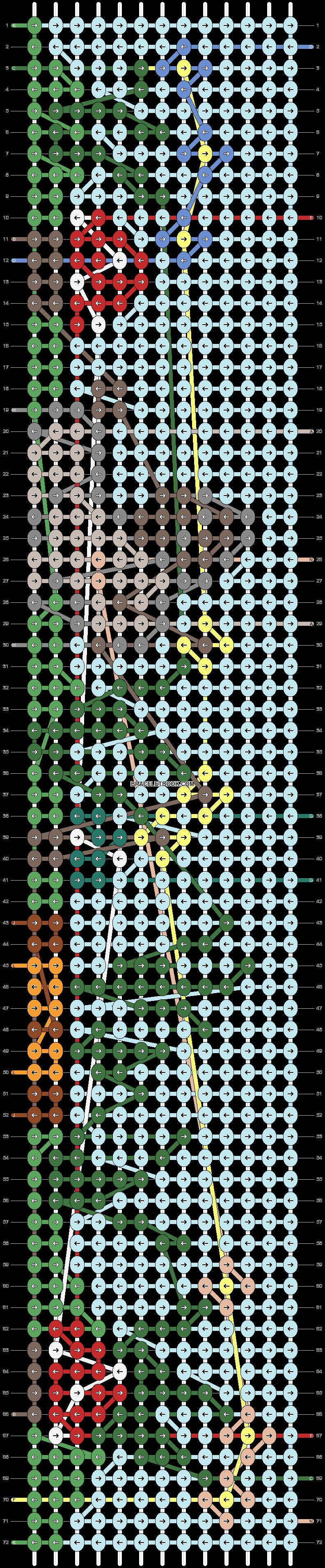Alpha pattern #91609 pattern