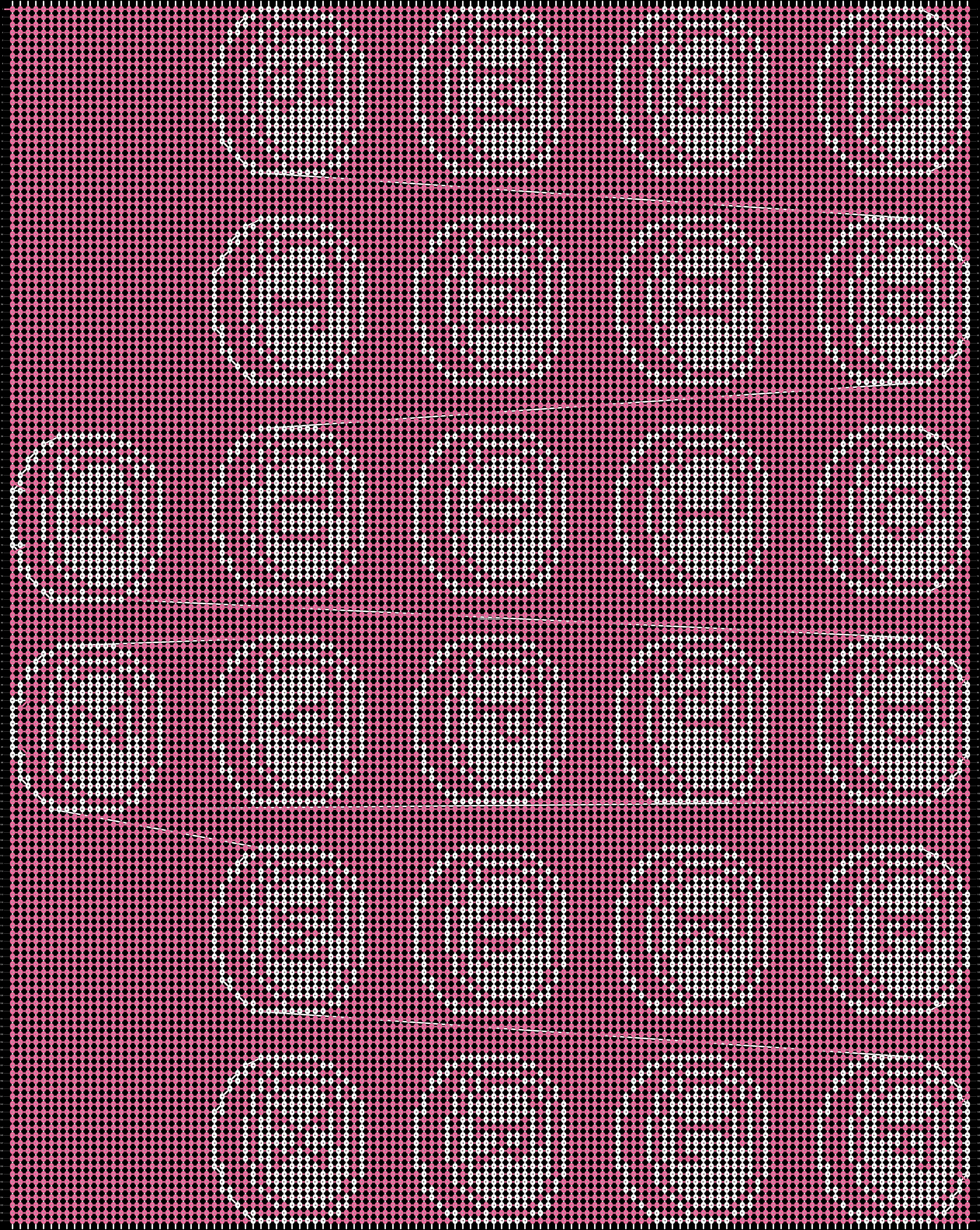 Alpha pattern #91628 pattern