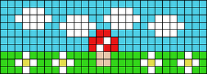 Alpha pattern #91644