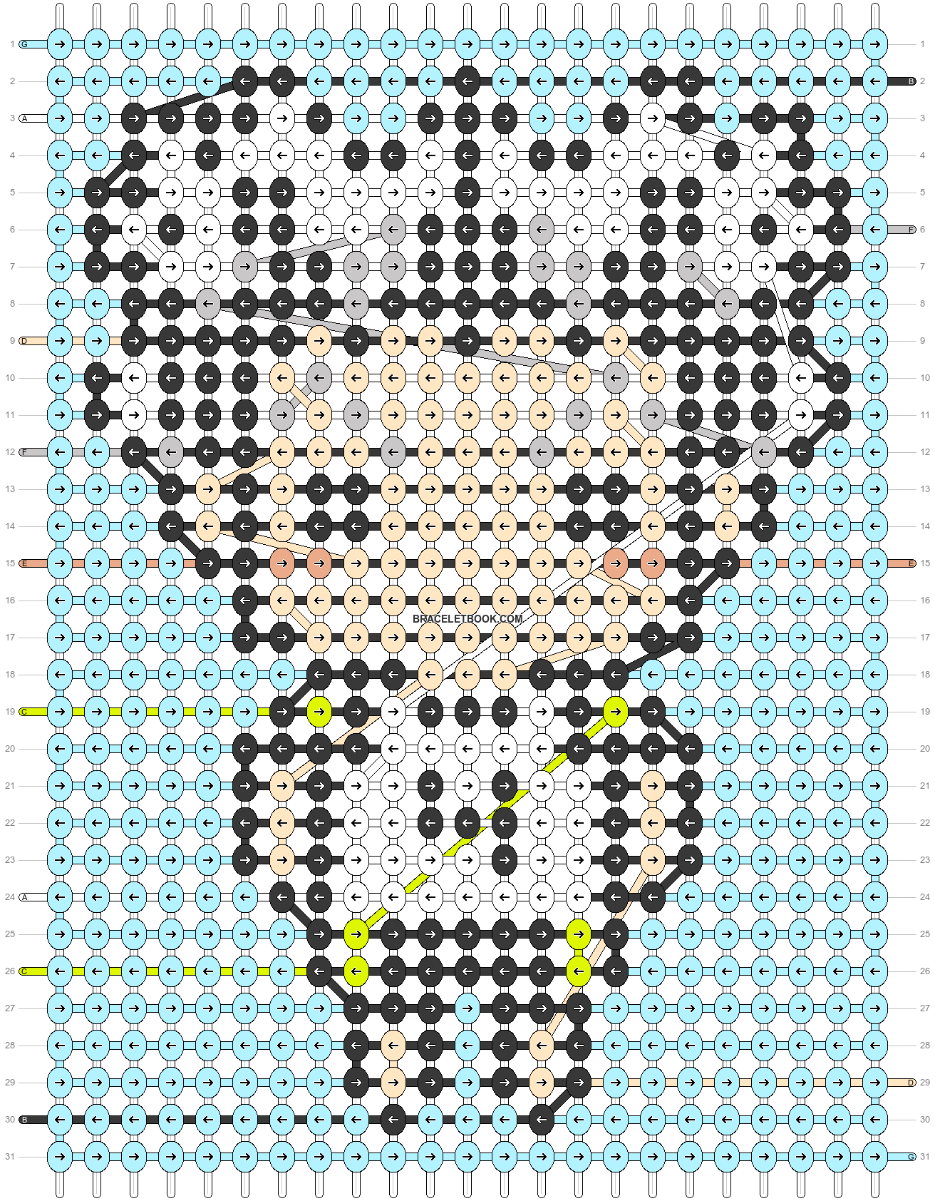 Alpha pattern #91650 pattern