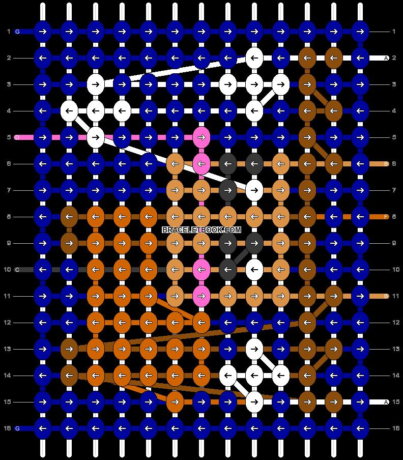 Alpha pattern #91652 pattern