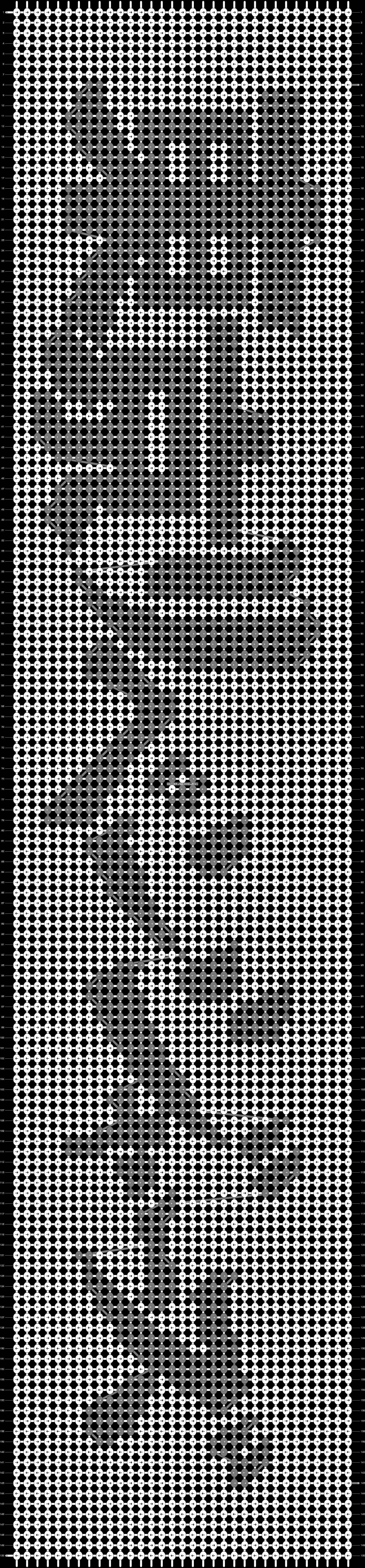 Alpha pattern #91693 pattern