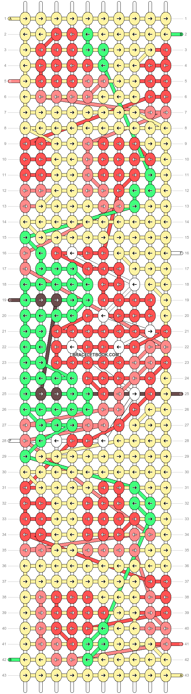 Alpha pattern #91701 pattern
