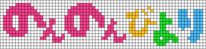 Alpha pattern #91710