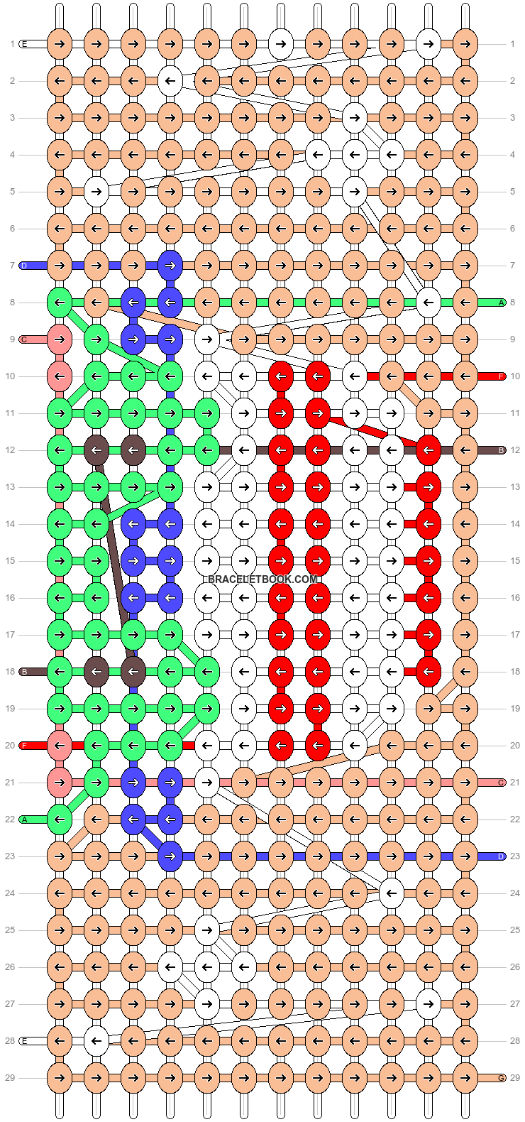 Alpha pattern #91725 pattern