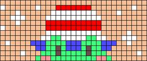 Alpha pattern #91725