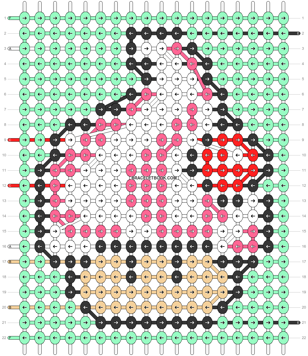 Alpha pattern #91732 pattern