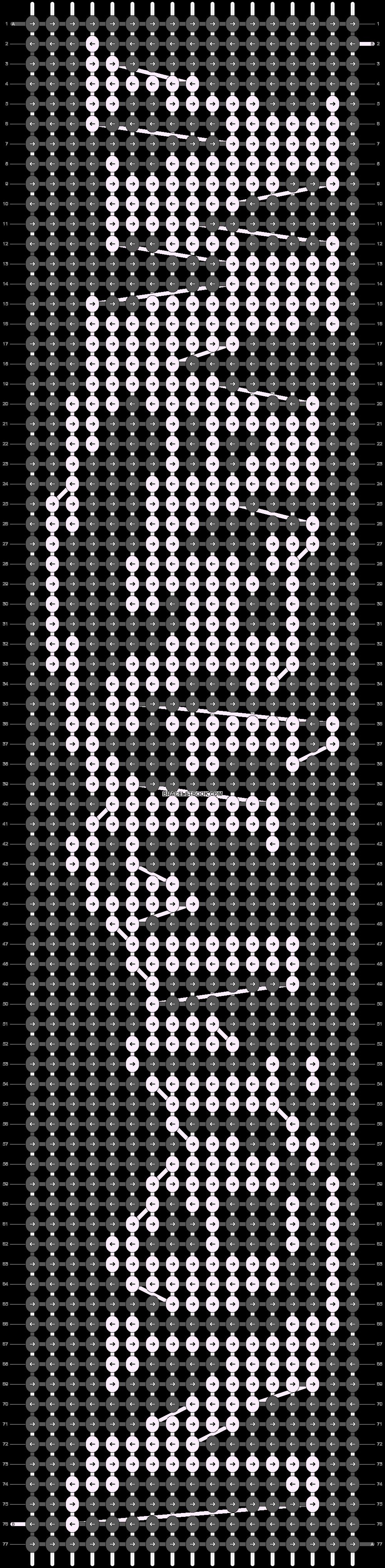 Alpha pattern #91842 pattern