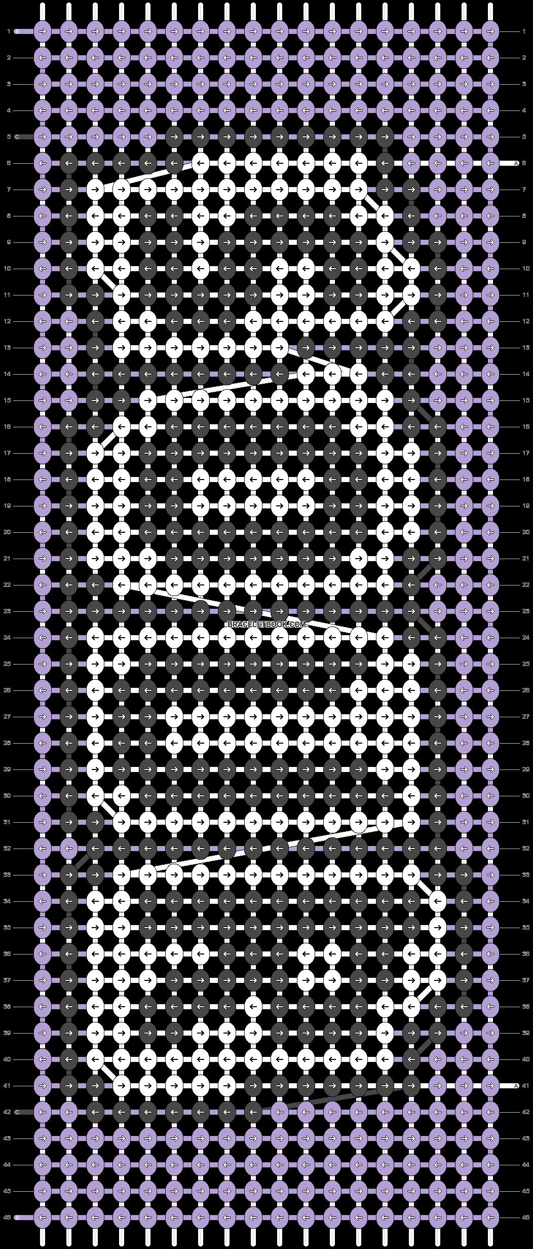 Alpha pattern #91849 pattern