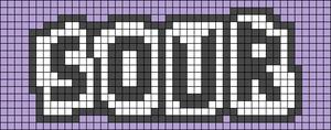 Alpha pattern #91849
