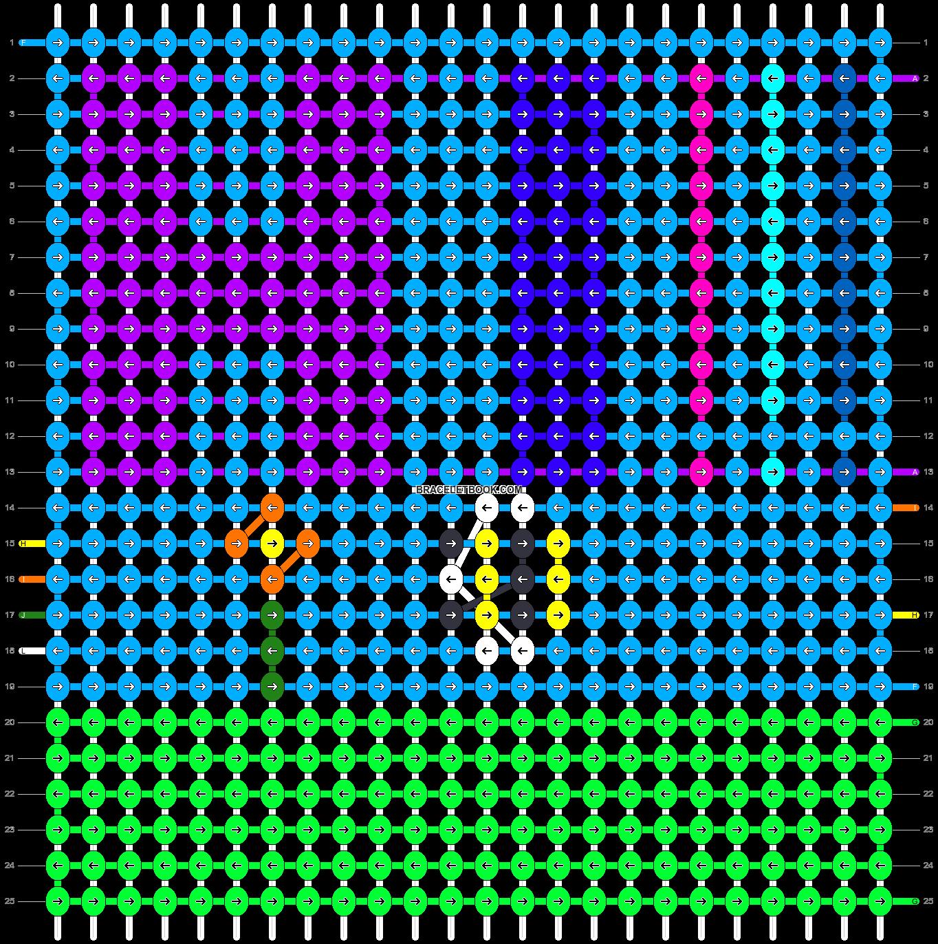 Alpha pattern #91883 pattern