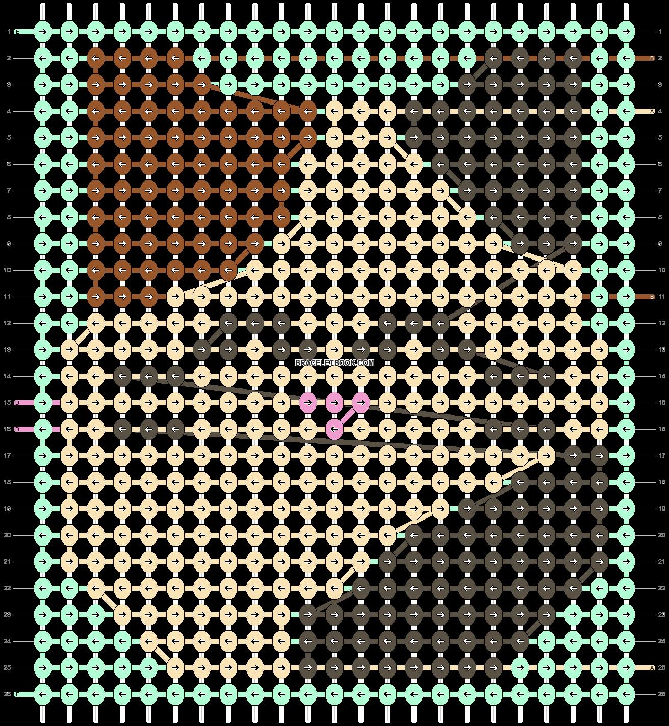 Alpha pattern #91889 pattern