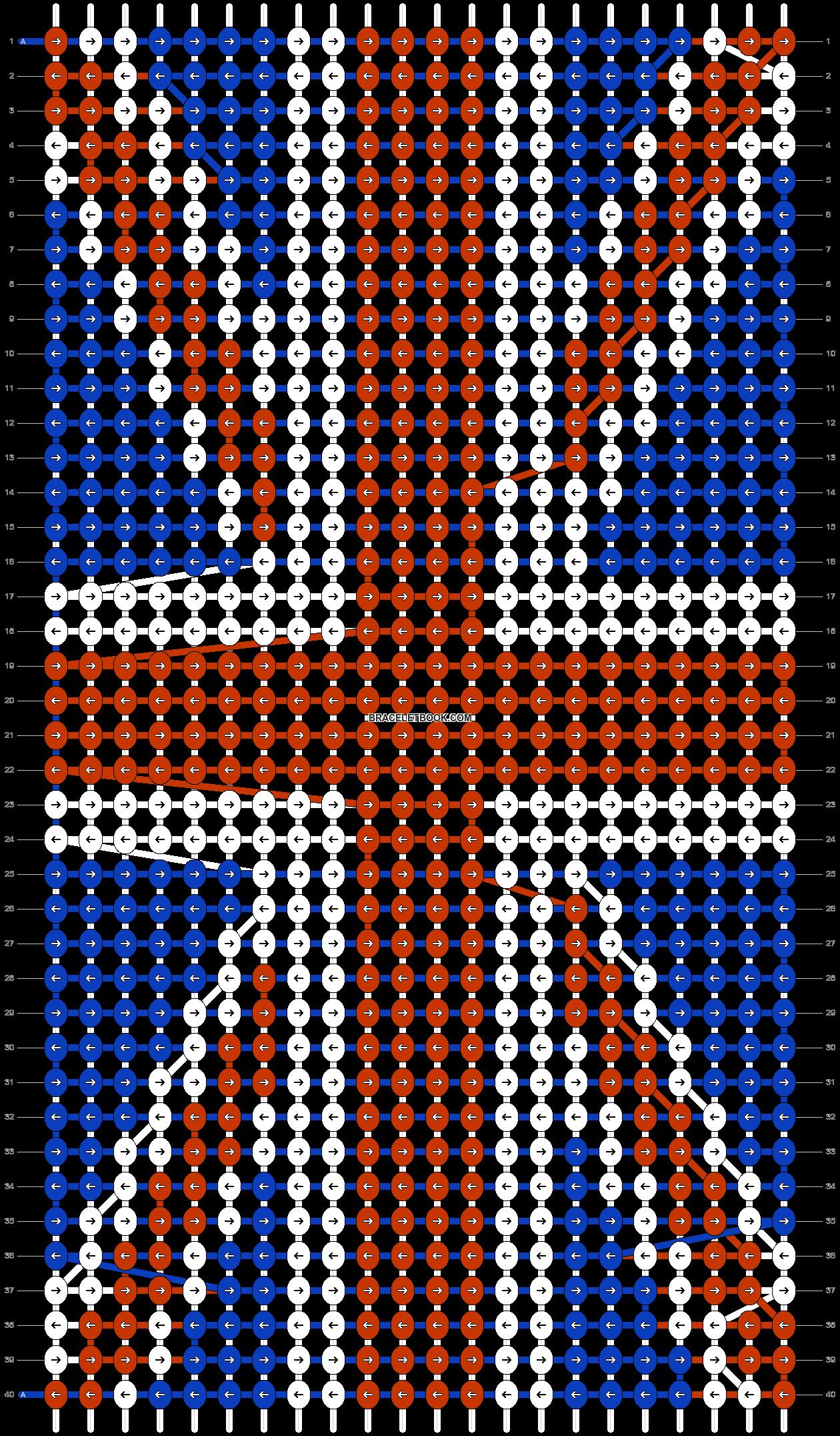 Alpha pattern #91900 pattern
