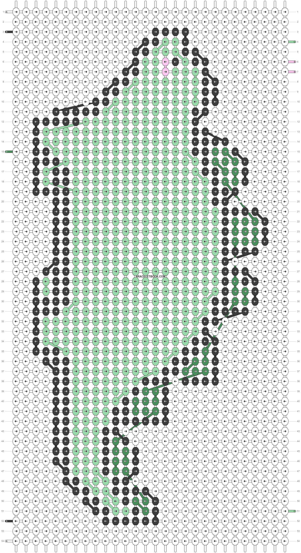 Alpha pattern #91954 pattern