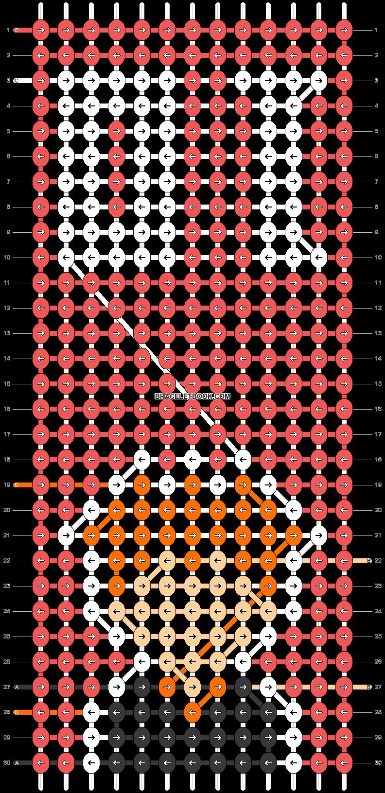 Alpha pattern #91970 pattern