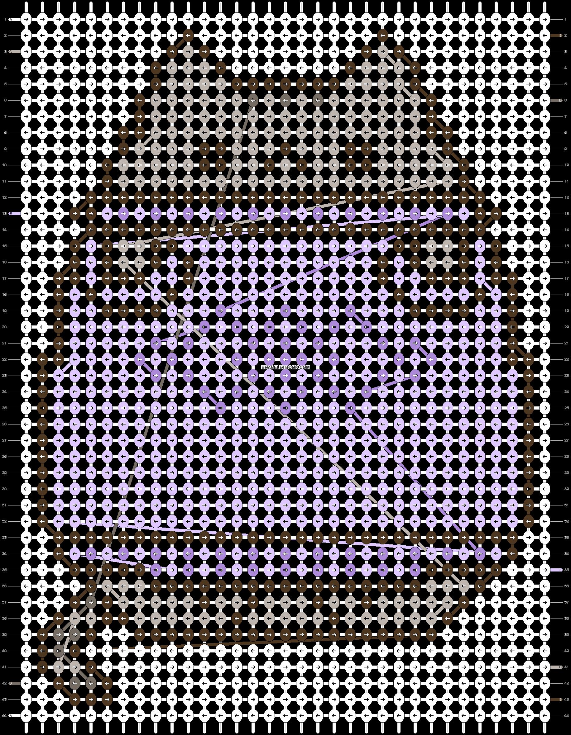 Alpha pattern #92002 pattern