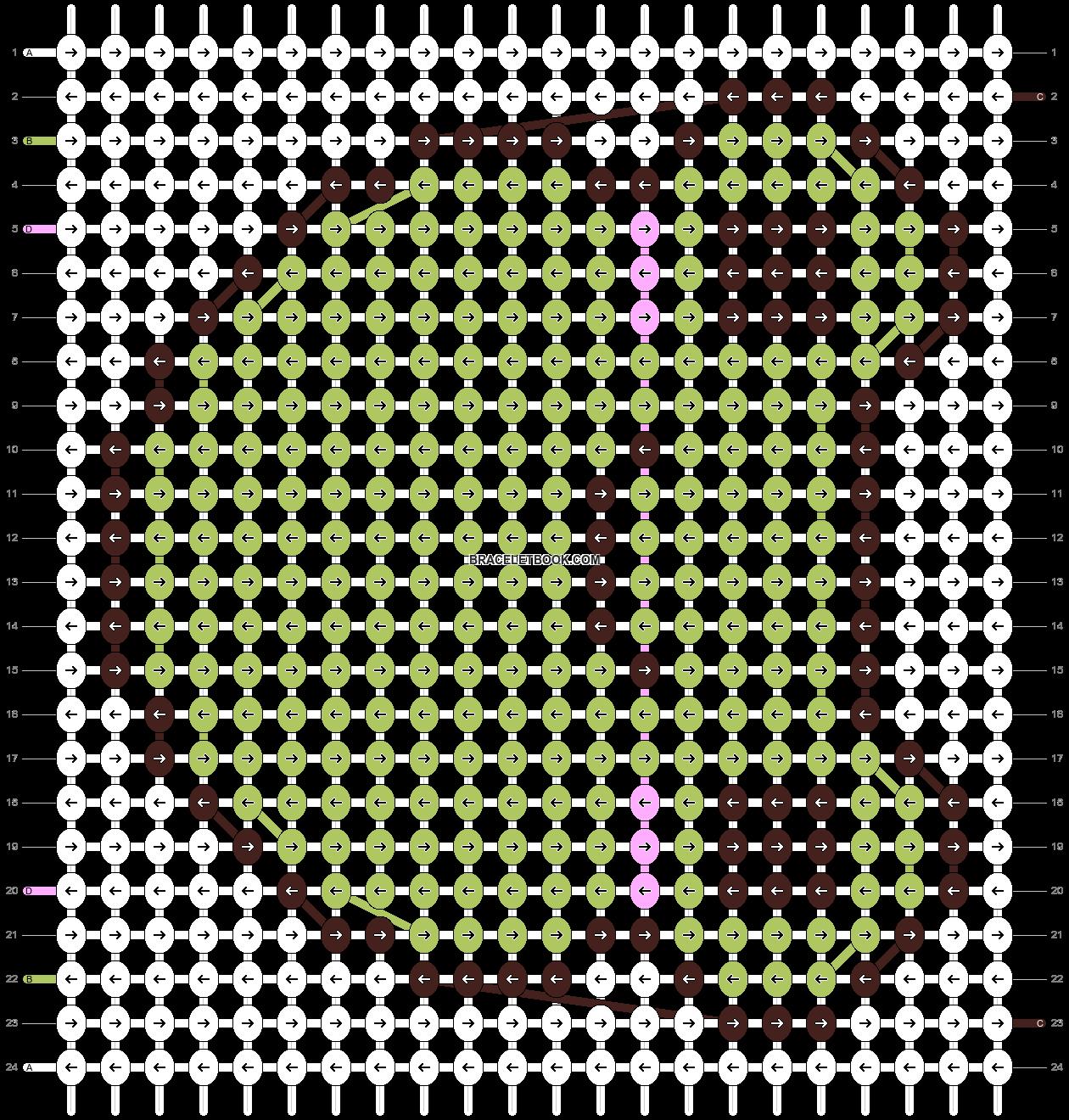 Alpha pattern #92054 pattern