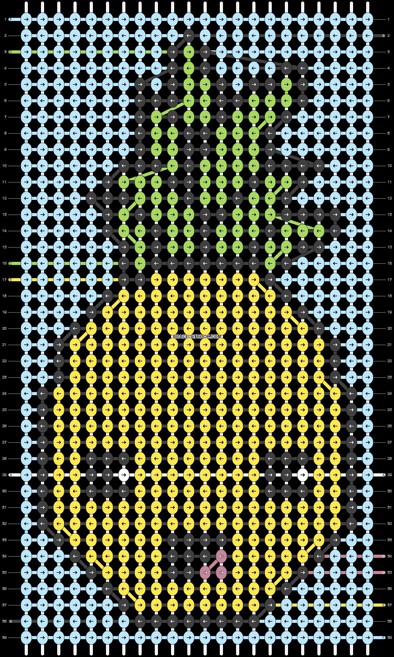 Alpha pattern #92061 pattern