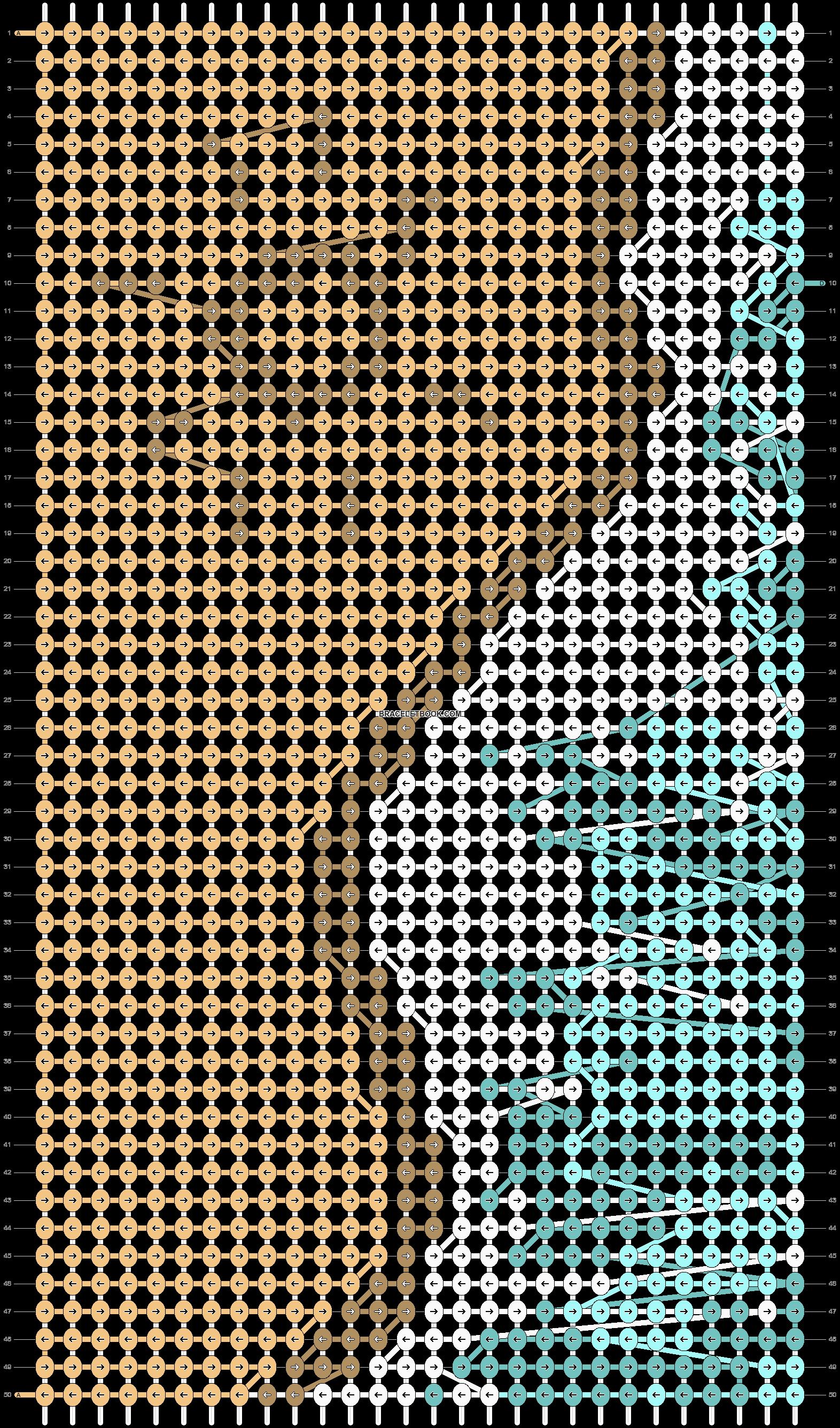 Alpha pattern #92064 pattern