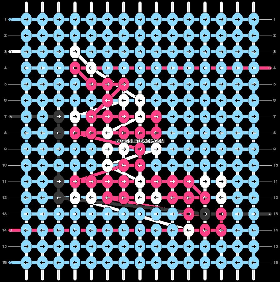 Alpha pattern #92081 pattern