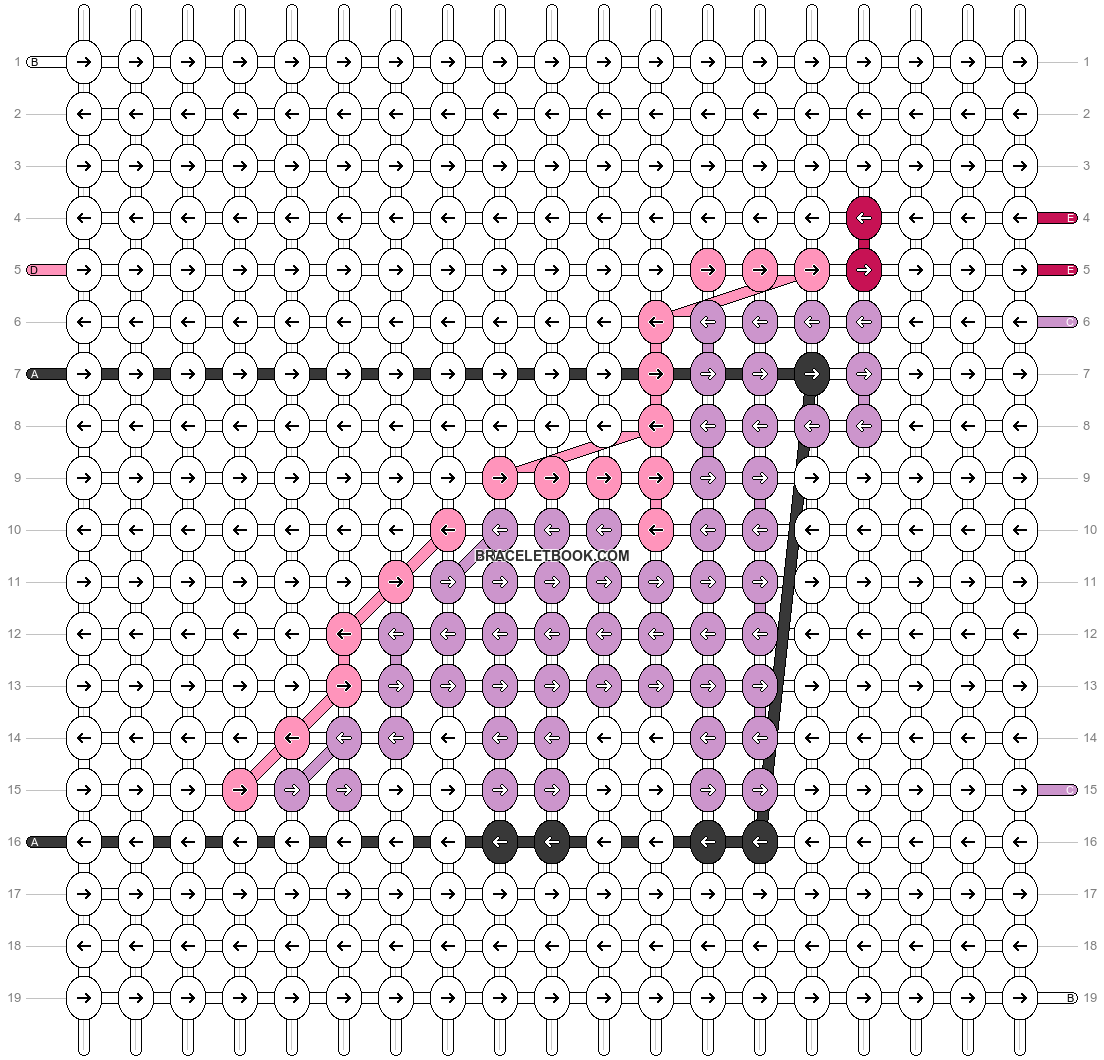 Alpha pattern #92105 pattern