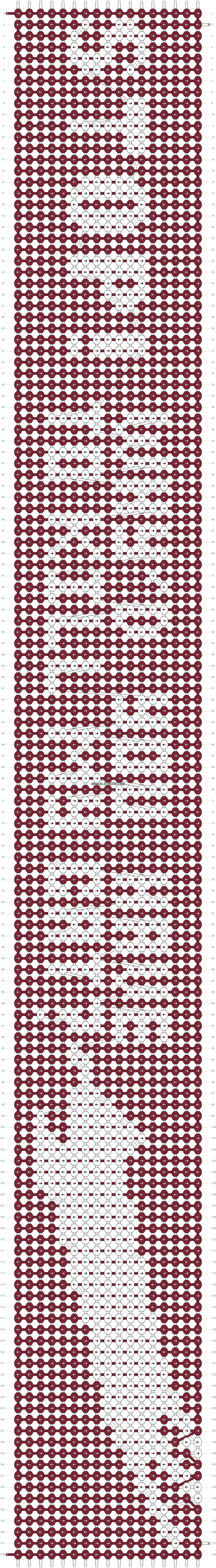 Alpha pattern #92110 pattern