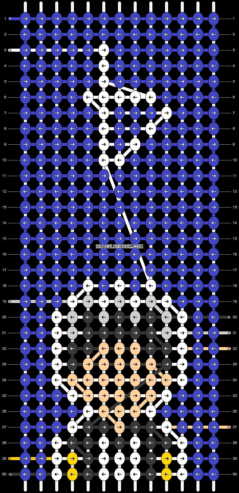 Alpha pattern #92118 pattern