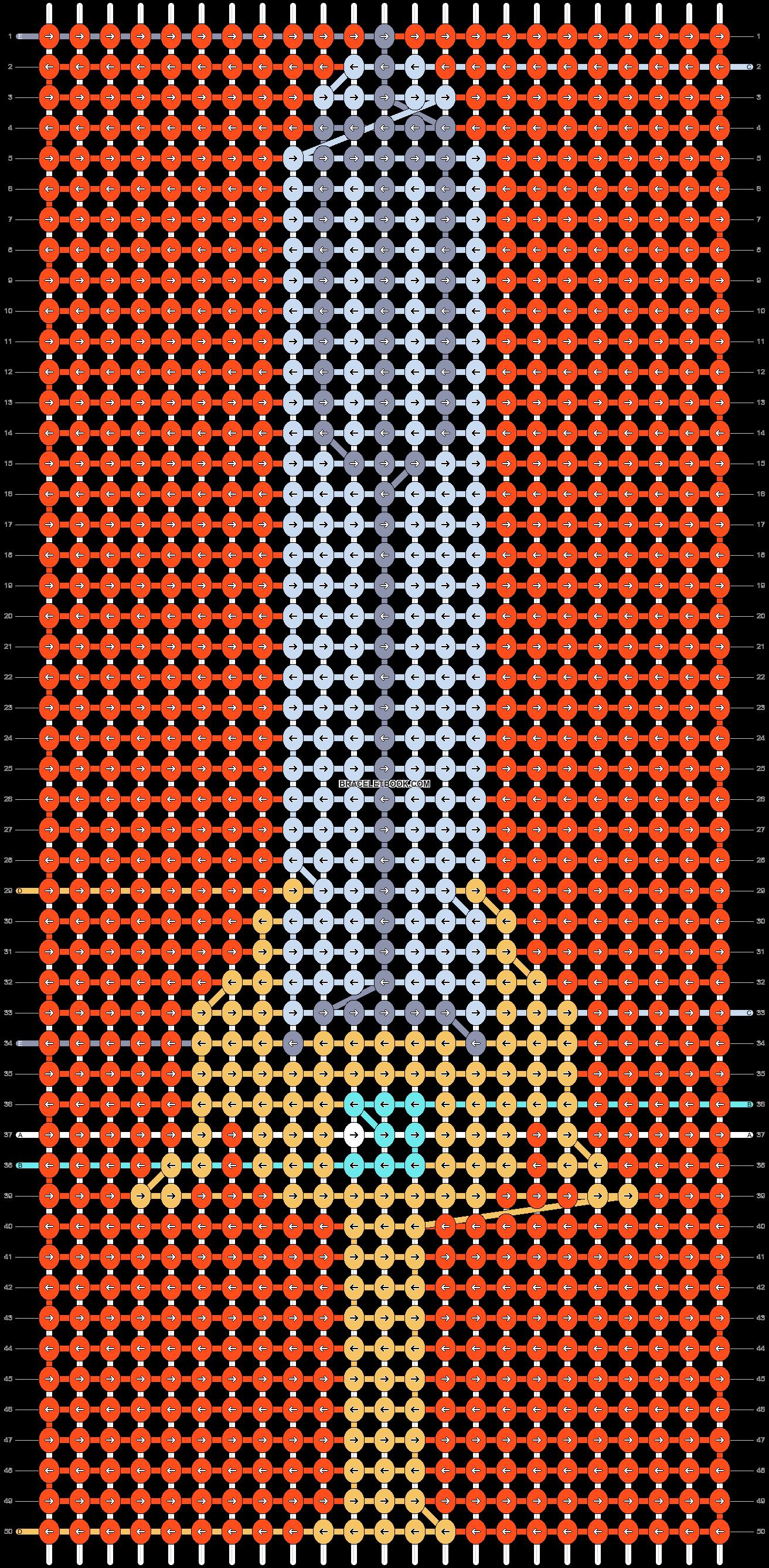 Alpha pattern #92121 pattern