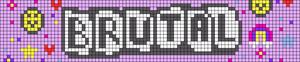 Alpha pattern #92131