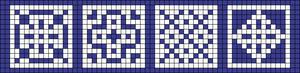 Alpha pattern #92152