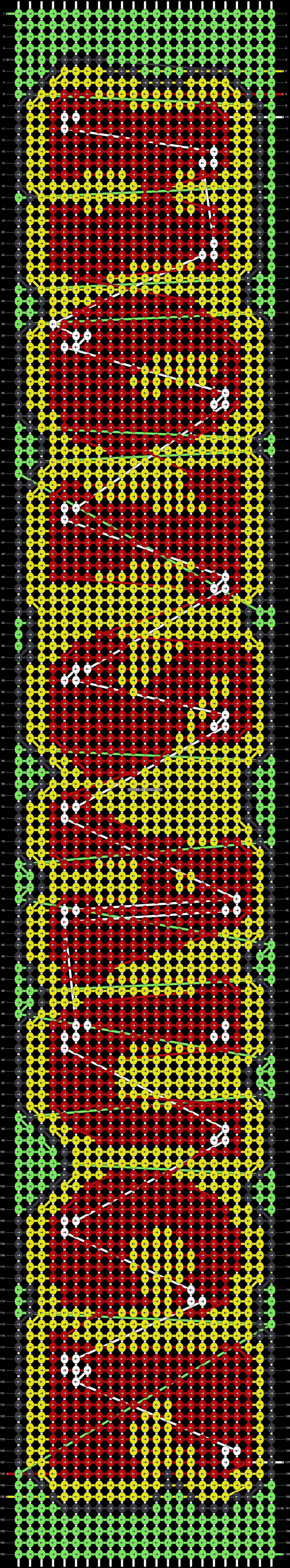 Alpha pattern #92210 pattern