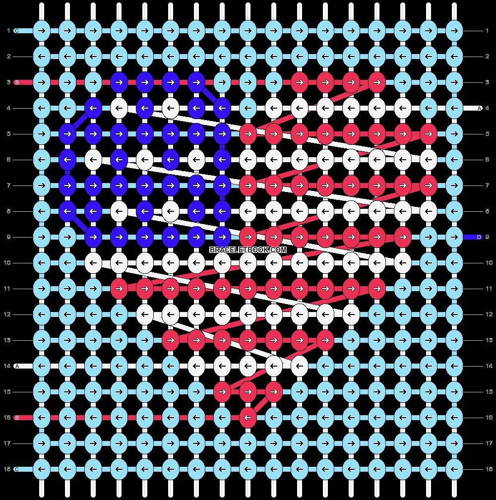 Alpha pattern #92217 pattern