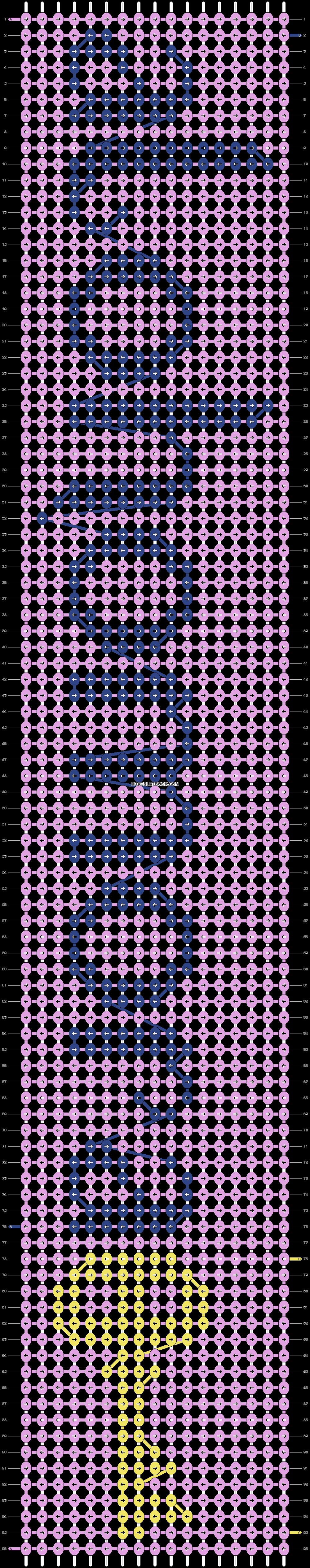 Alpha pattern #92334 pattern