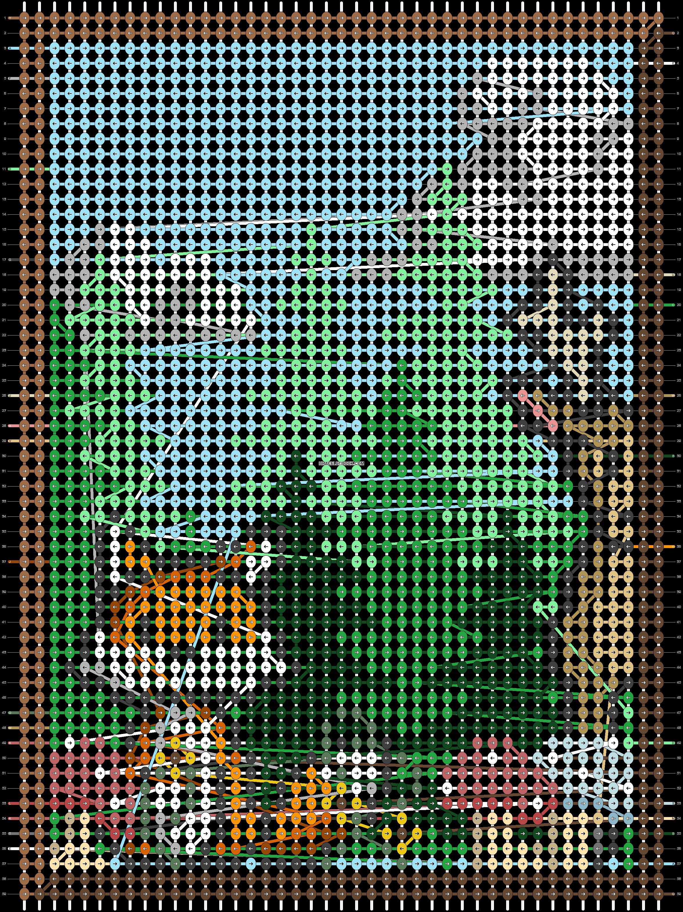 Alpha pattern #92356 pattern