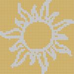 Alpha pattern #92363