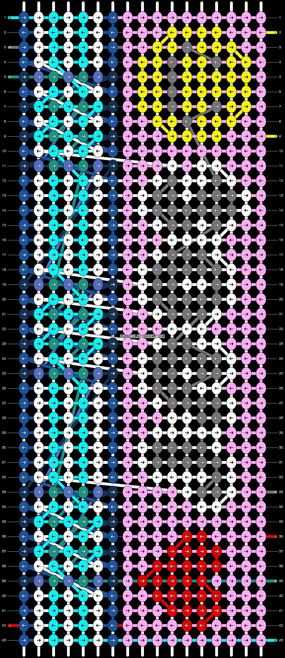 Alpha pattern #92365 pattern