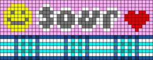 Alpha pattern #92365
