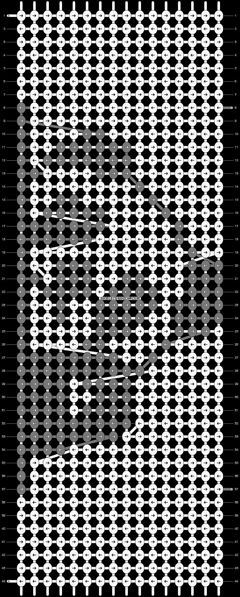 Alpha pattern #92369 pattern