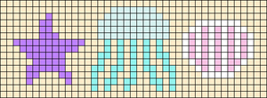 Alpha pattern #92370