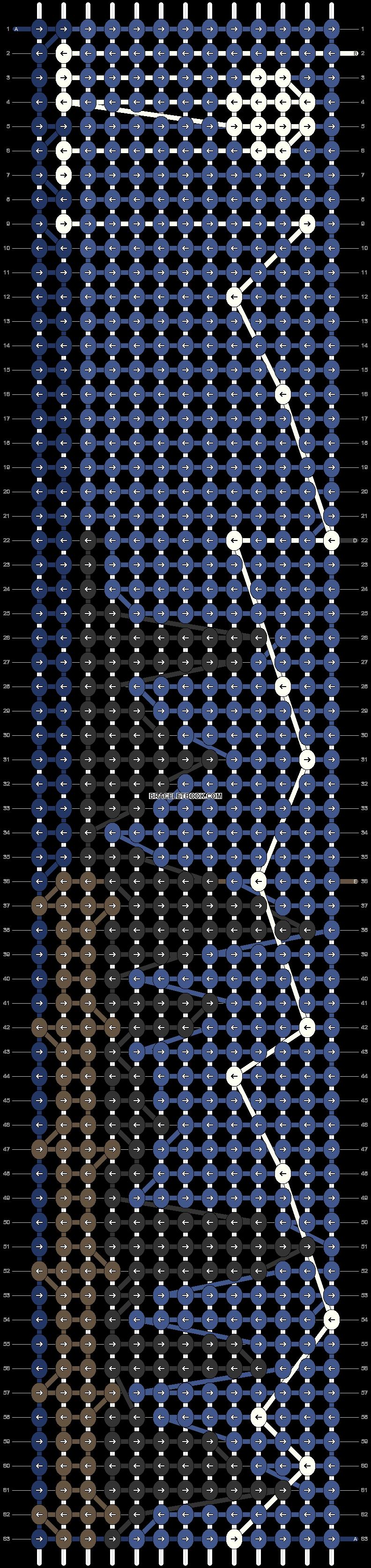 Alpha pattern #92423 pattern