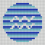 Alpha pattern #92459