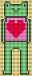 Alpha pattern #92467
