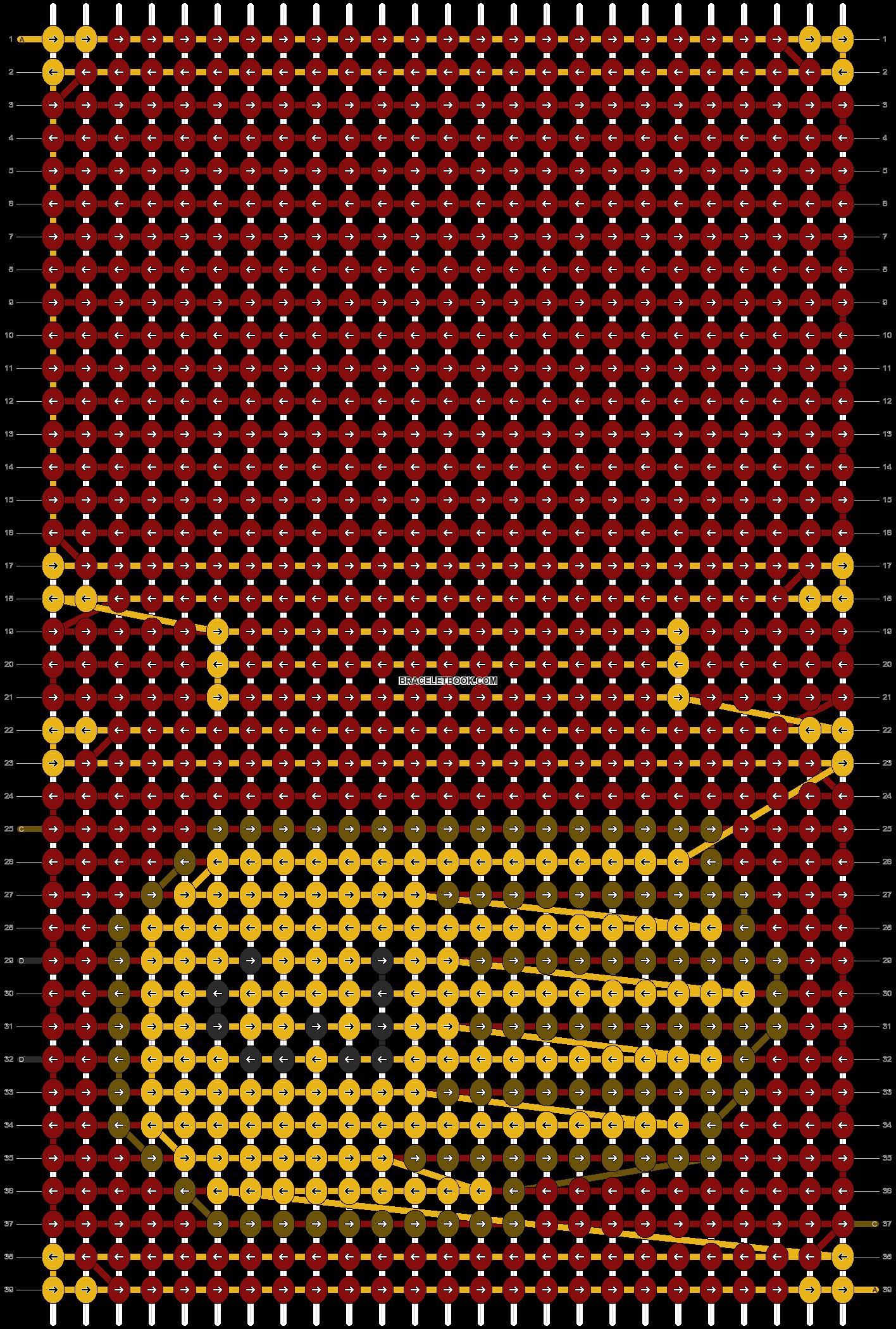 Alpha pattern #92483 pattern