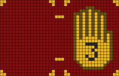 Alpha pattern #92483