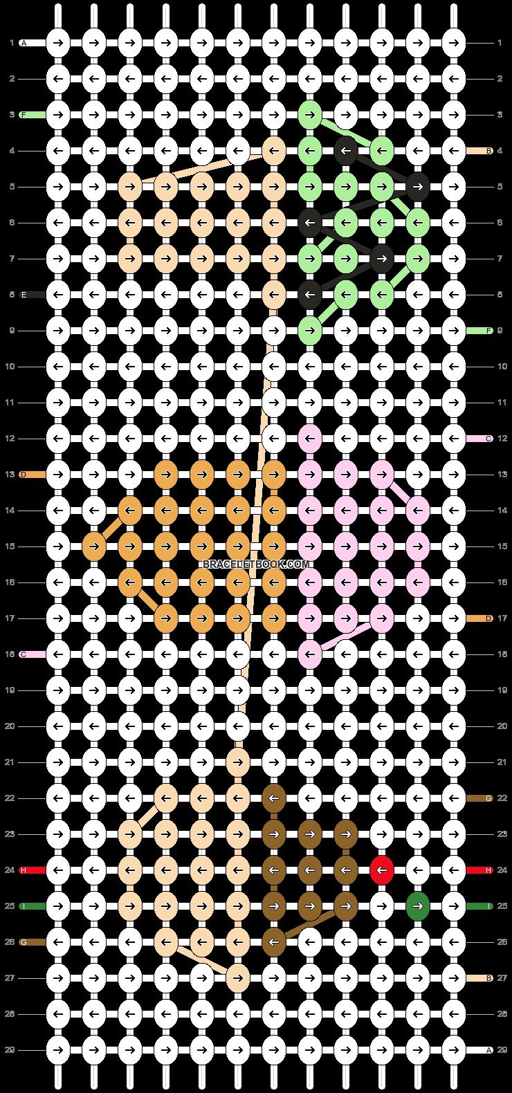 Alpha pattern #92484 pattern