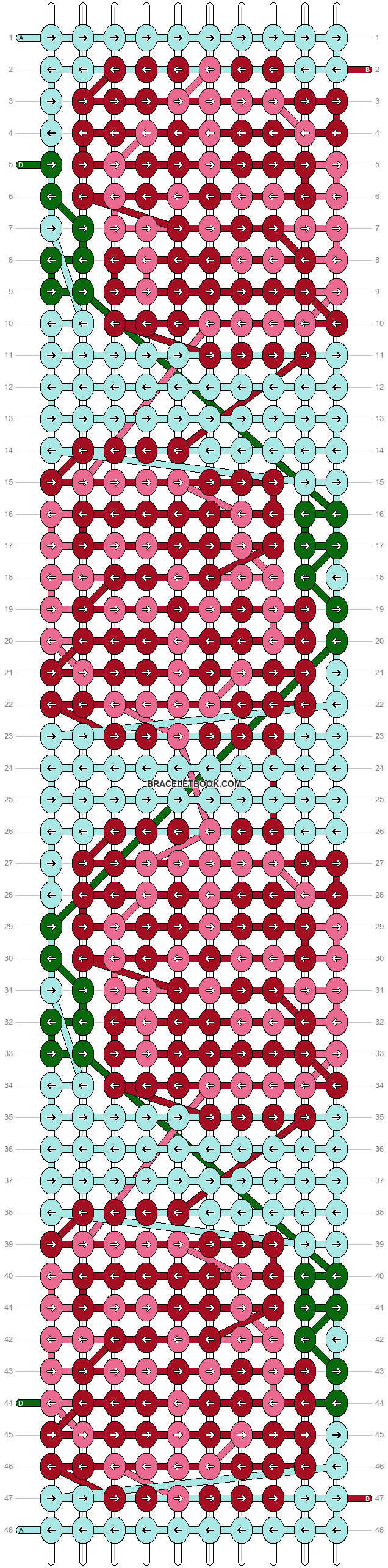 Alpha pattern #92504 pattern