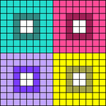 Alpha pattern #92523